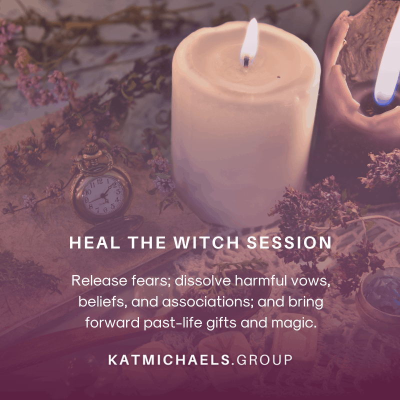 heal the witch session