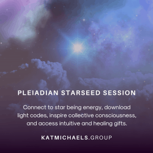 Pleiadian starseed session