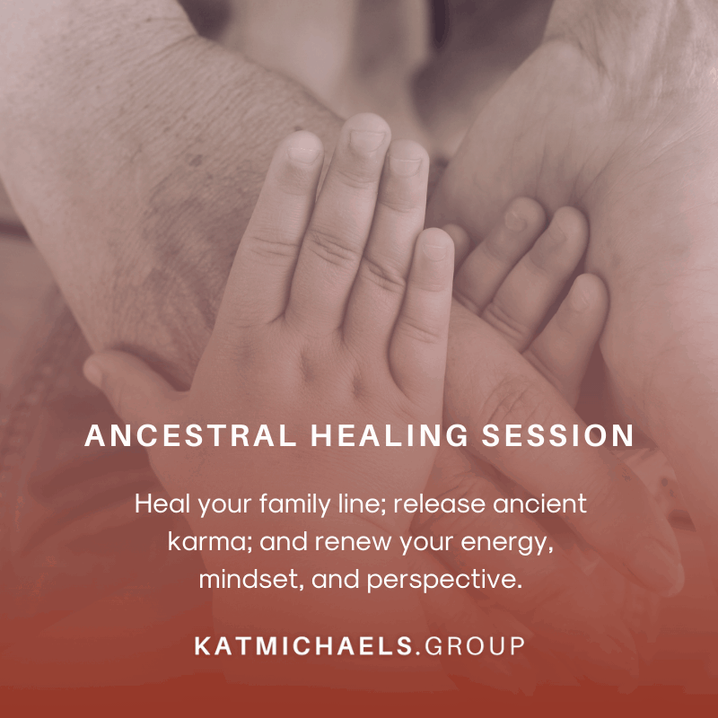 ancestral healing session