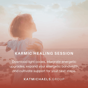 karmic healing session