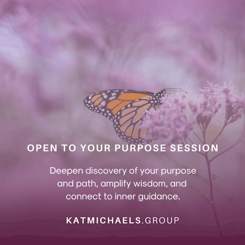 open to your purpose session